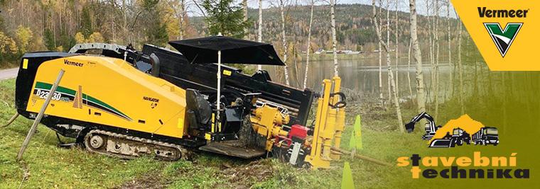 Švédská firma AB Willer profituje zefektivity avýkonu vrtacího zařízení Vermeer